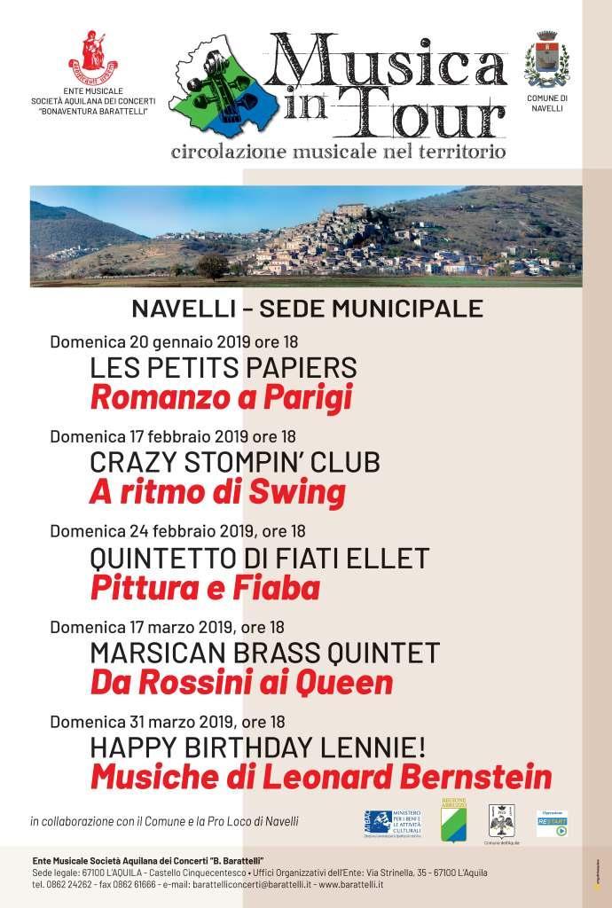 Musica tour Navelli generale